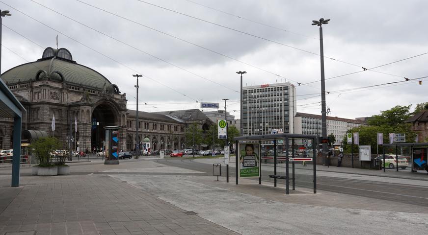 Nicht sehr anziehend: der Nürnberger Hauptbahnhof.