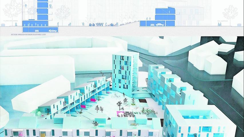 wbg präsentierte Wettbewerbs-Sieger für neues Quartier in Hummelstein