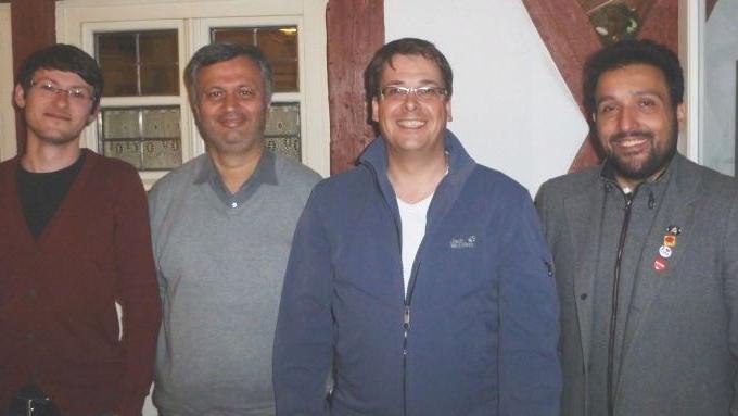 Die Führungscrew (von links): Victor Rother, Hamit Bakir, Harald Dösel, Erkan Dinar.