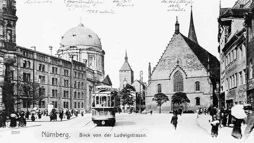 Damals und heute: So sehr hat sich Nürnberg verändert