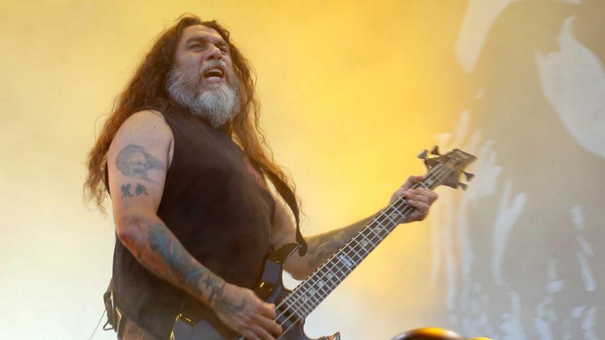 Foto: Roland Fengler Motiv: Rock im Park 2014 RiP ------- Slayer --------  Datum: 08.06.2014