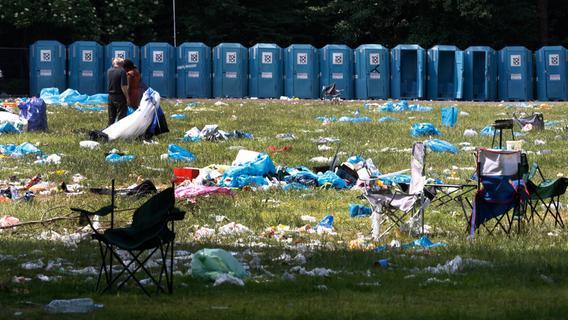 260 Tonnen Müll: Aufräumarbeiten nach