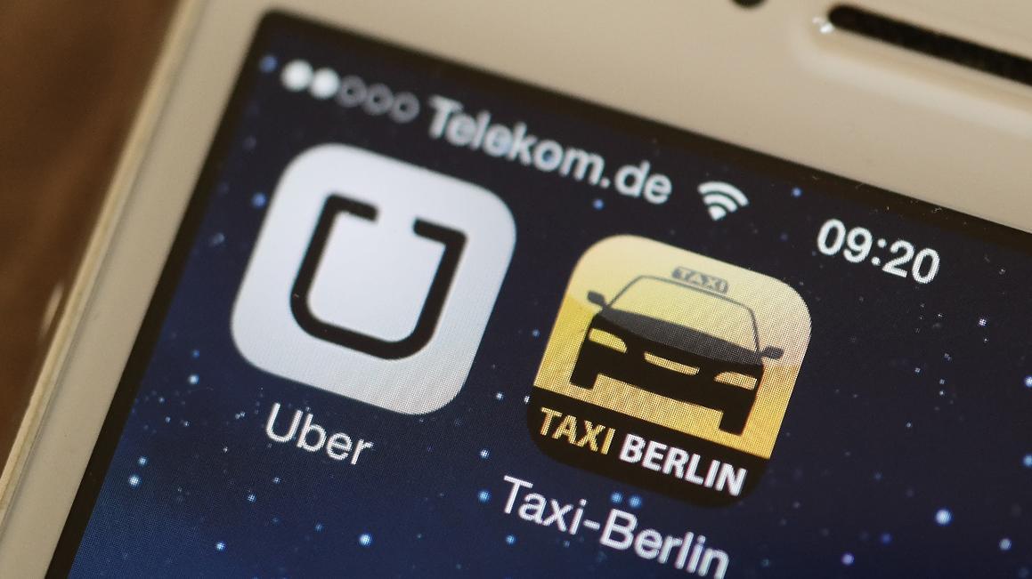 Die Taxi-App Uber soll in Nürnberg keinen Fuß fassen können.