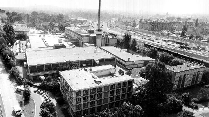 Der 1930 gebaute Milchhof ist eine Aushängeschild des Industriebaus in Nürnberg. So viel ist davon aber nicht mehr übrig ...