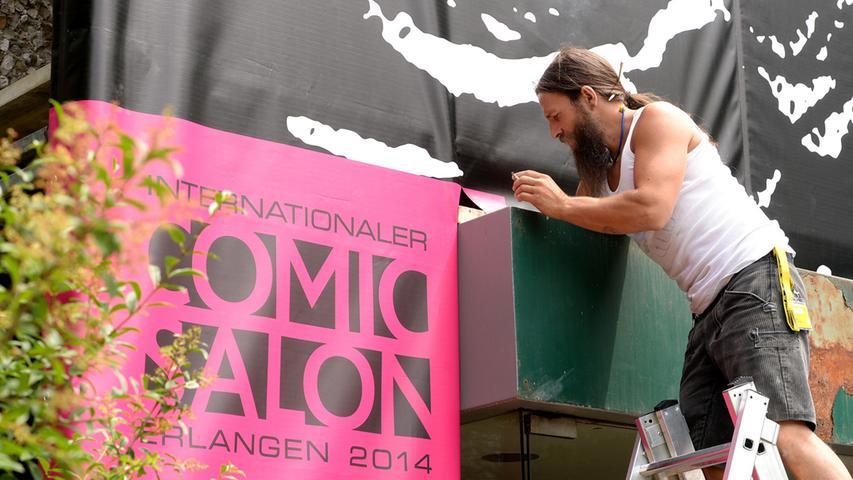 Erlangen rüstet sich für den 16. Internationalen Comic-Salon