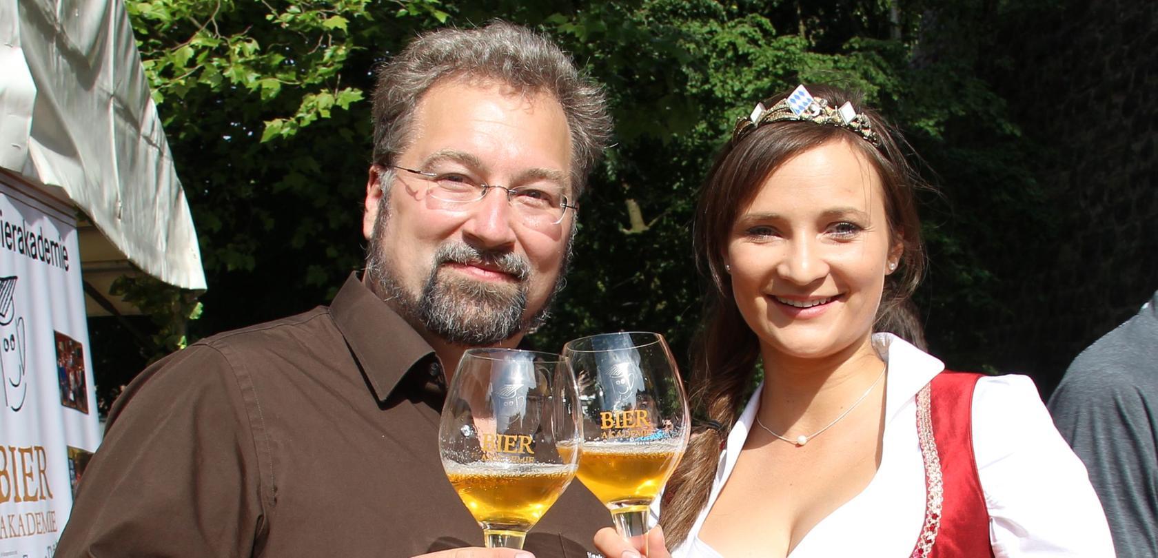 Hoher Besuch beim Bierfest am Donnerstag: