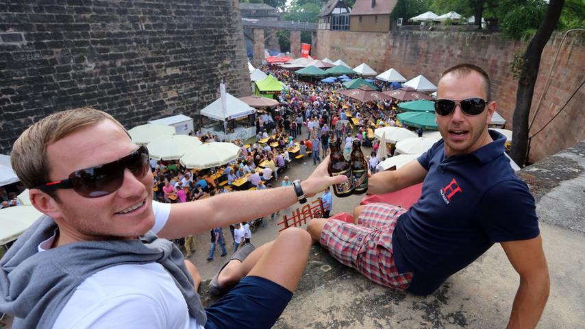 Bierfest im Burggraben: Nürnberg feiert die fränkische Bierkultur