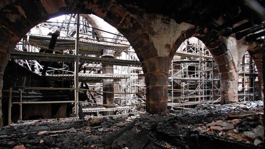 Erste Schritte zum Wiederaufbau von St. Martha getan