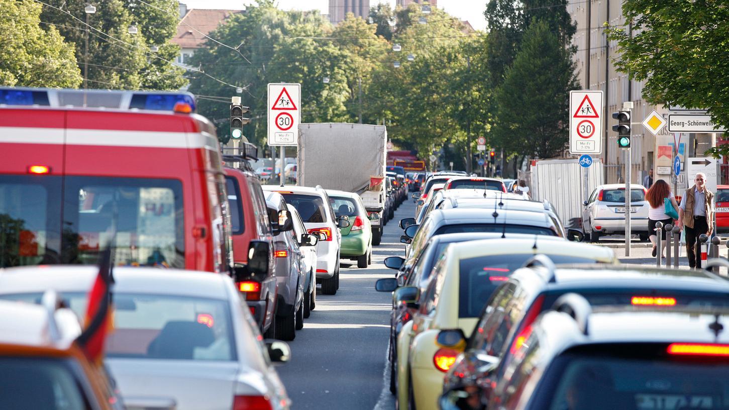 Die Menschen, die an der Gibitzenhofstraße leben, sind einer enormen Lärmbelastung ausgesetzt, aber Tempo 30 kommt hier nicht.