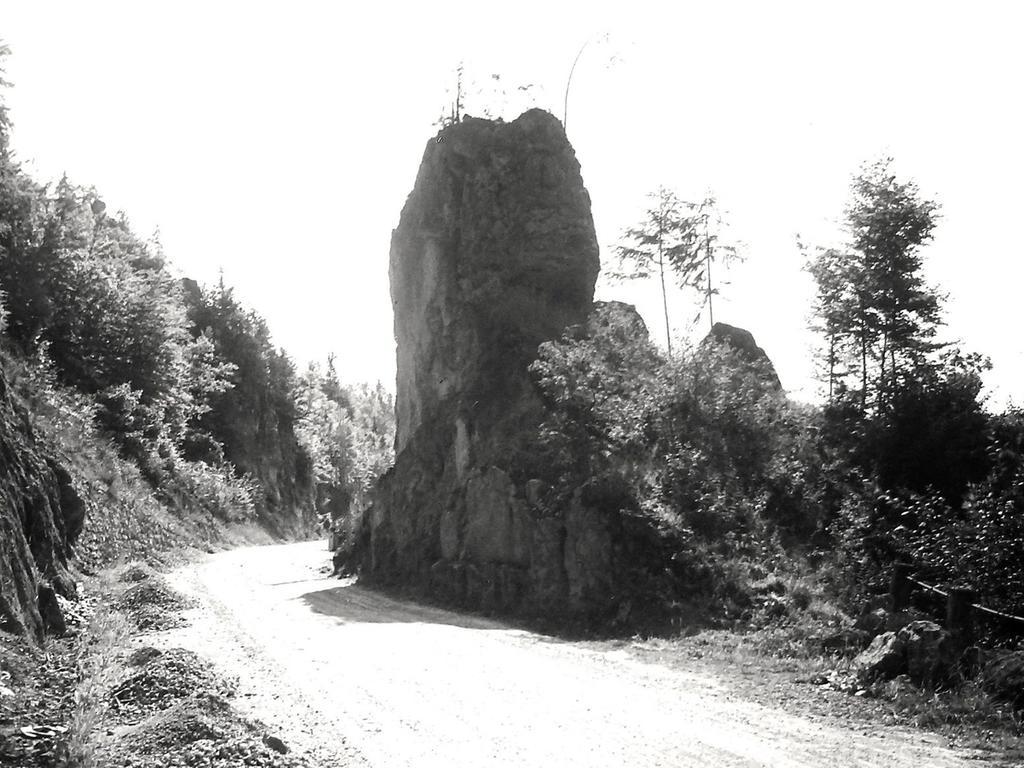 Historisches Foto, aufgenommen von Wilhelm Heinz ca. 1930 in der Fränkischen  Schweiz, digitalisiert von Max Legien Fels