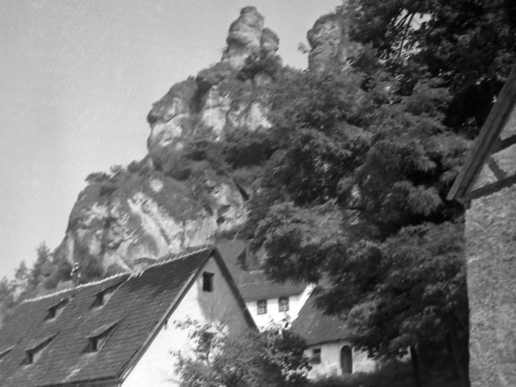 Historisches Foto, aufgenommen von Wilhelm Heinz ca. 1930 in der Fränkischen  Schweiz, digitalisiert von Max Legien Tüchersfeld