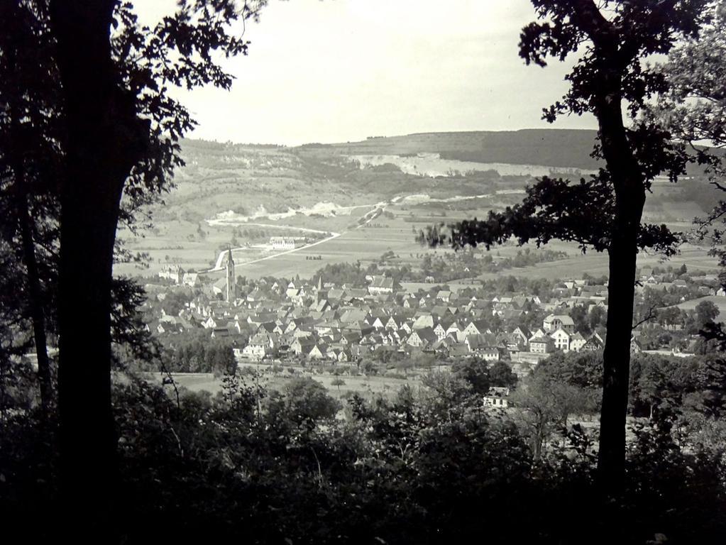 Historisches Foto, aufgenommen von Wilhelm Heinz ca. 1930 in der Fränkischen  Schweiz, digitalisiert von Max Legien  Ebermannstadt