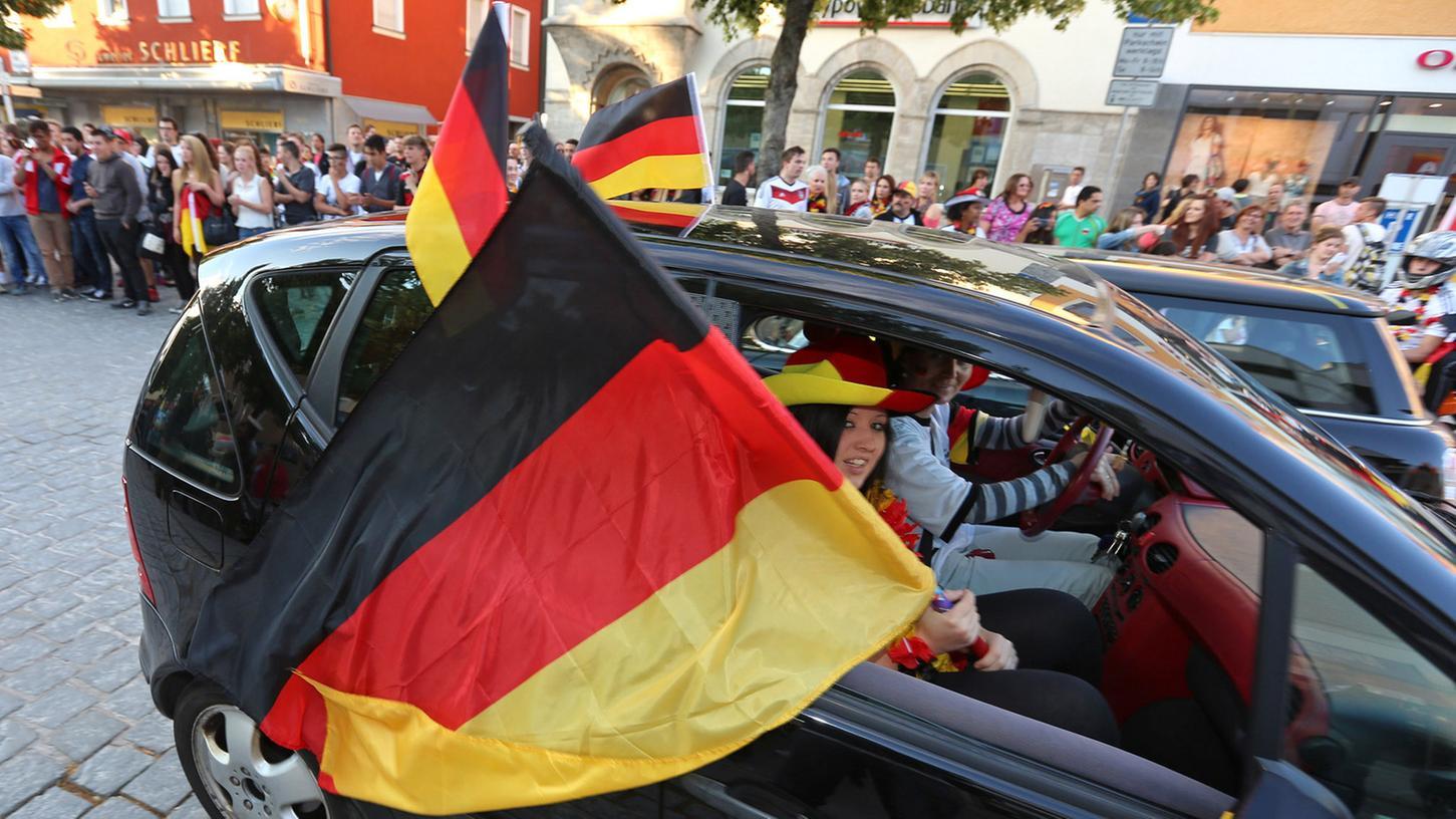 Gerade zur WM kennt der Patriotismus in Deutschland keine Grenzen - die Linksjugend sieht darin einen bedenklichen Trend.