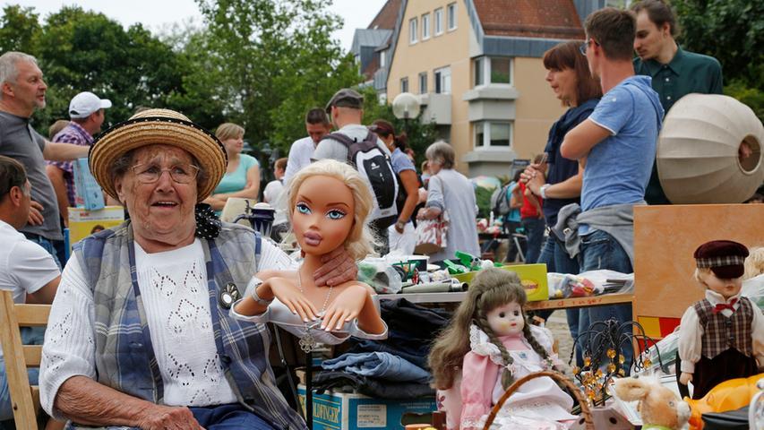 Tausende zieht es zum Grafflmarkt nach Fürth
