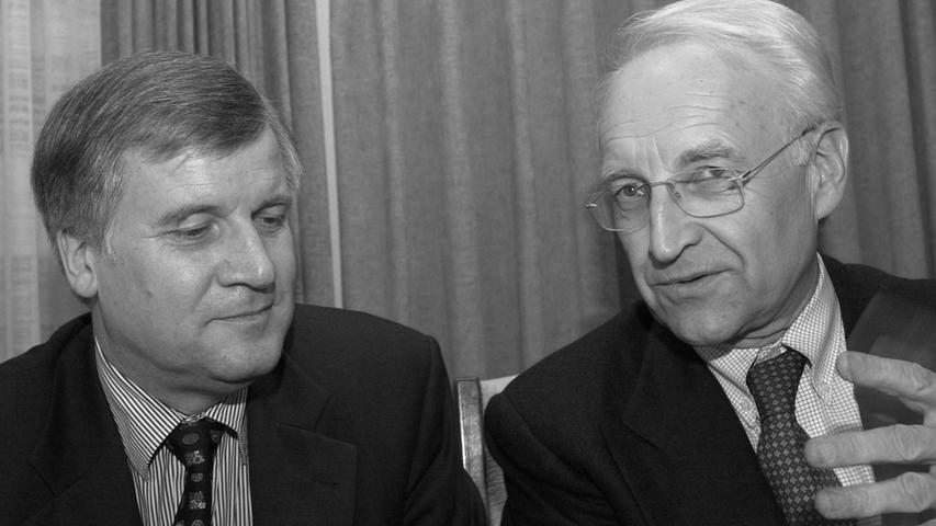 Horst der Große? Die Karriere von Ex-Ministerpräsident Seehofer
