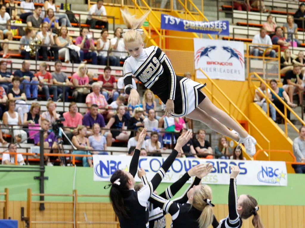 Nuernberg.05.07.2014..BBZ Berliner Platz, Offene Cheerleading  Meisterschaft..Ressort: Sport Fotograf: Stefan Hippel..