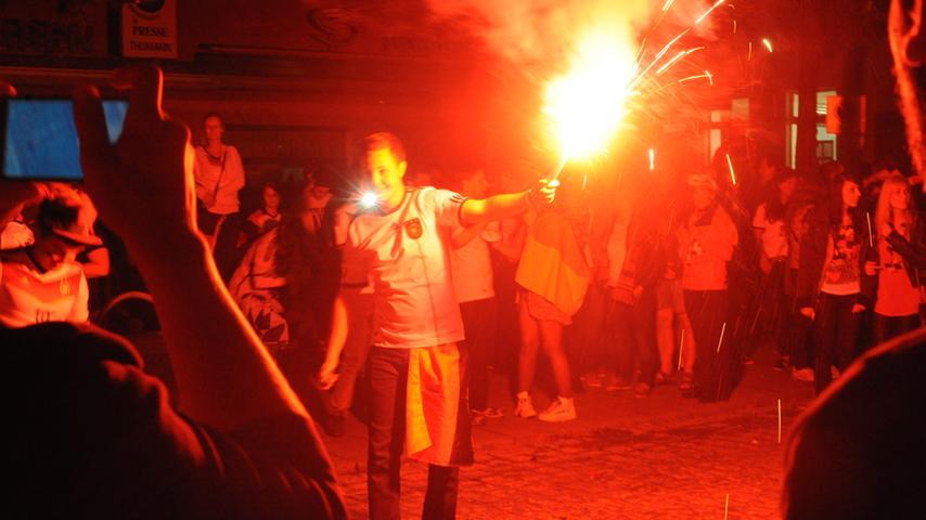 Jubelfeiern in Neumarkt.