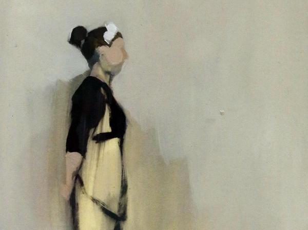 Für dieses kleine, feine Bild bekommt Anna Maria Schönrock den 2. Preis.