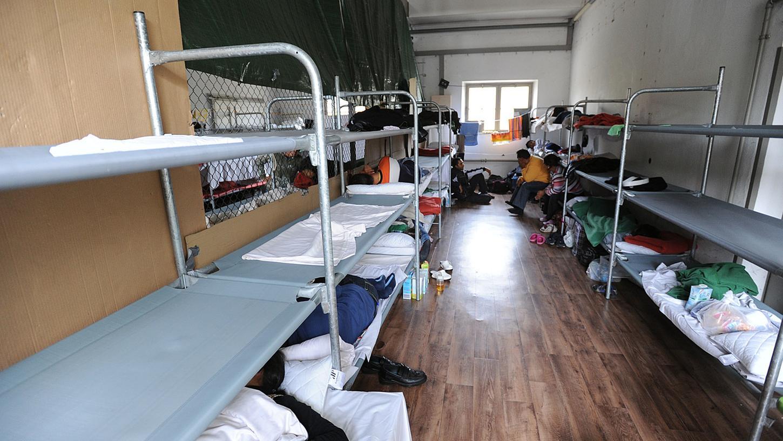 Mehrere Monate wurde die Frau in einer wie dieser Asylunterkunft untergebracht - nun wird sie abgeschoben.