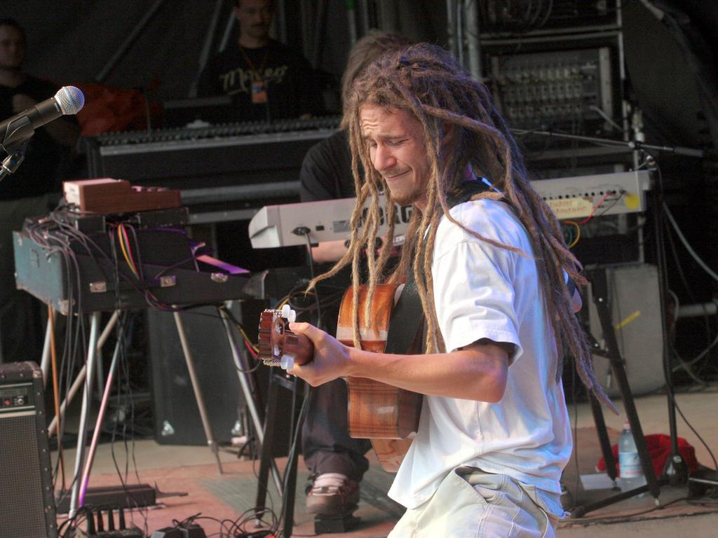 2005: Dominik Haas, in der Musikszene als