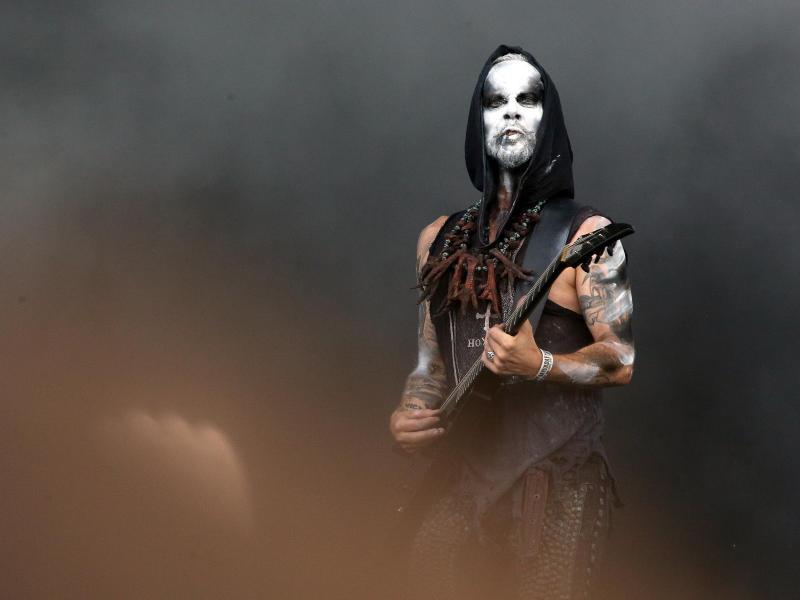 Blickfang: Adam Darski von der Band Behemoth.