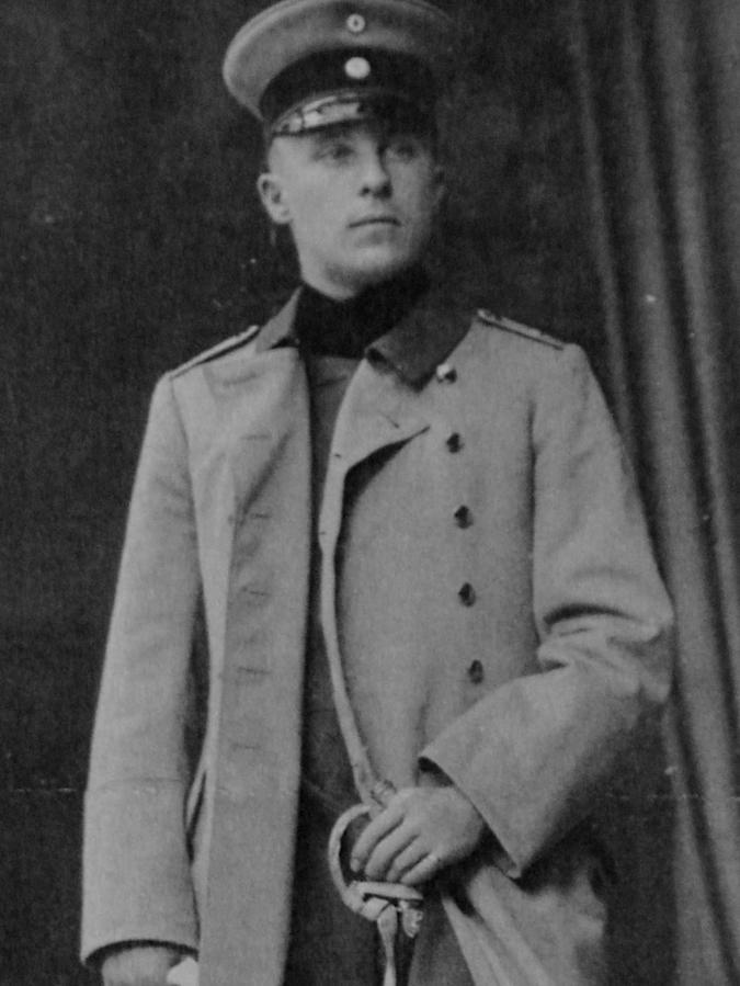Tagebuch-Autor Friedrich Meier sah den Krieg als Abenteuer.