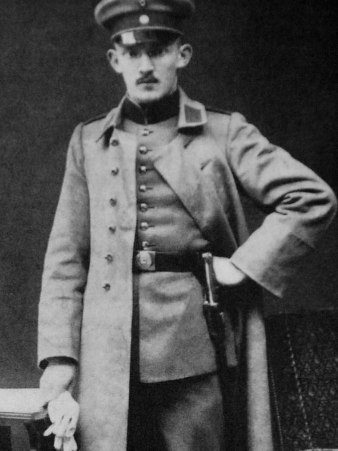 Wilhelm Moestel war der erste gefallene Offizier aus Fürth.