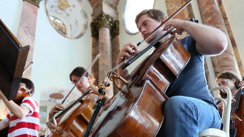 Collegium Musicum: Musizieren auf Schloss Weißenstein