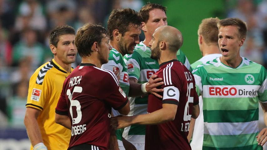 Eine Erkenntnis, die für Nürnberger bitter, für Fürther aber umso schöner ist: In Fußball-Franken regiert Weiß-Grün, das 5:1 war eine wahre Machtdemonstration der Spielvereinigung.