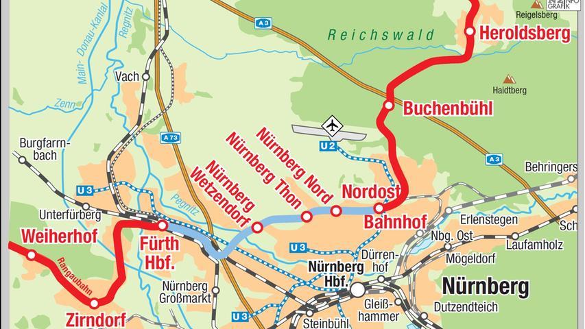 Zu teuer: Gräfenbergbahn wird vorerst nicht verlängert