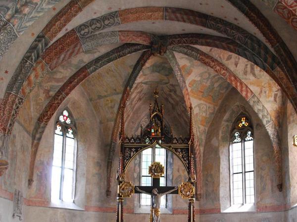 In der Eibacher Johanniskirche erinnert noch vieles an den mittelalterlichen Vorgängerbau.