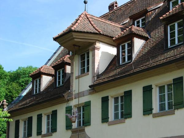 In der Gerasmühle lief der Mühlenbetrieb bis ins Jahr 1954. Das wie ein Museumsdorf wirkende Ensemble ist heute ein beliebtes Ausflugsziel.