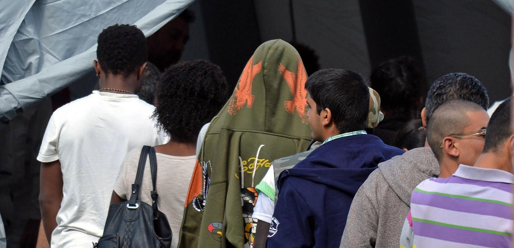 Die Flüchtlinge sind unzufrieden mit der Zelt-Unterbringung