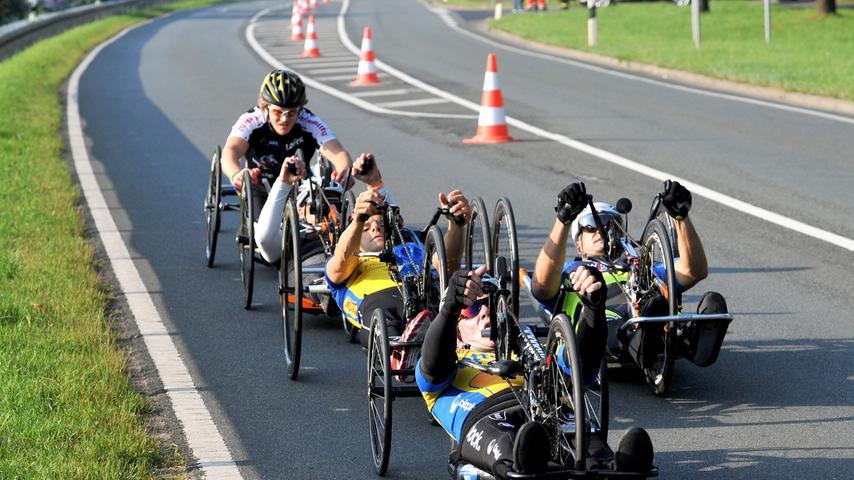 Bei den Handbikern wurde der National Handbike Circuit ausgetragen.