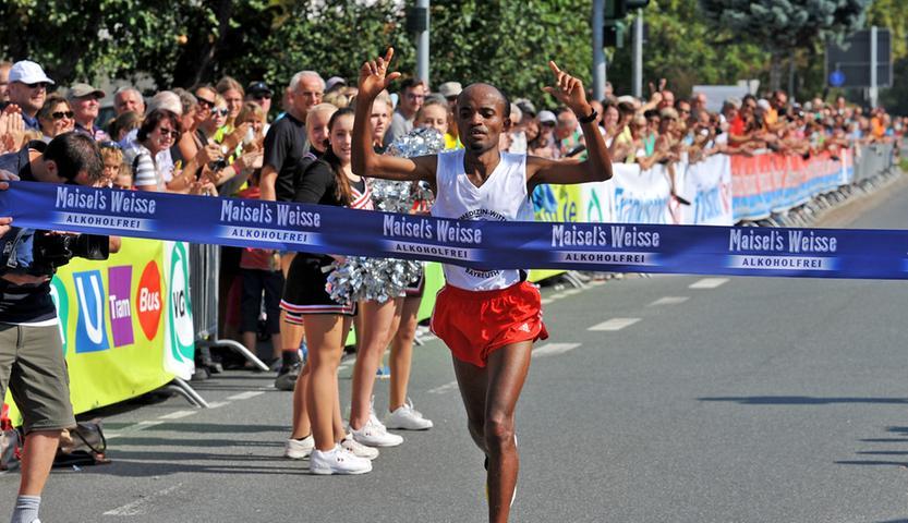 1700 Teilnehmer sind beim Fränkische-Schweiz-Marathon auf die Strecke gegangen.