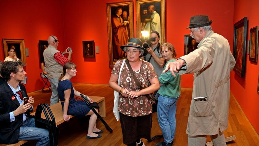 Im Haus Albrecht Dürers ist nicht nur Platz für alte Gemälde und Kupferstiche.