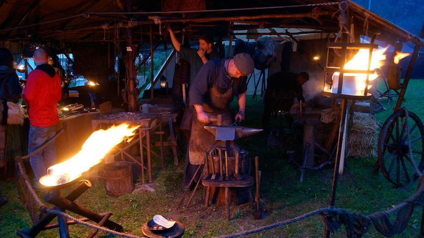 RESSORT: HA Feuilleton / Online..FOTO: HvD..MOTIV: Das 7. Festival Mediaval in  der oberfränkischen Stadt Selb, Europas größtes Mittelalter-Fest, 12. September  2014