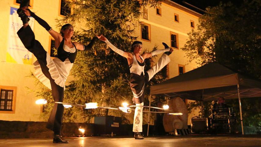Forchheimer ZirkArt-Festival: Impressionen vom Samstag