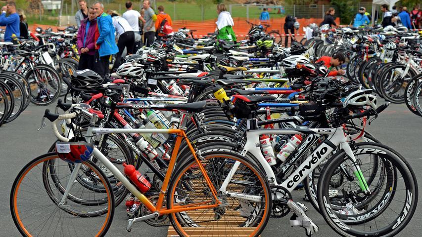 DATUM: 14.09.2014..RESSORT: Lokales ..FOTO: Horst Linke ..MOTIV: Medwork -  Triathlon in Höchstadt..