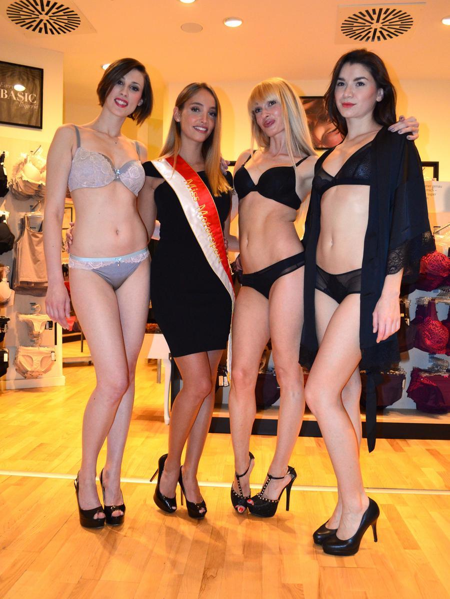 Unterwäsche models heiße HELLROSE: heiße