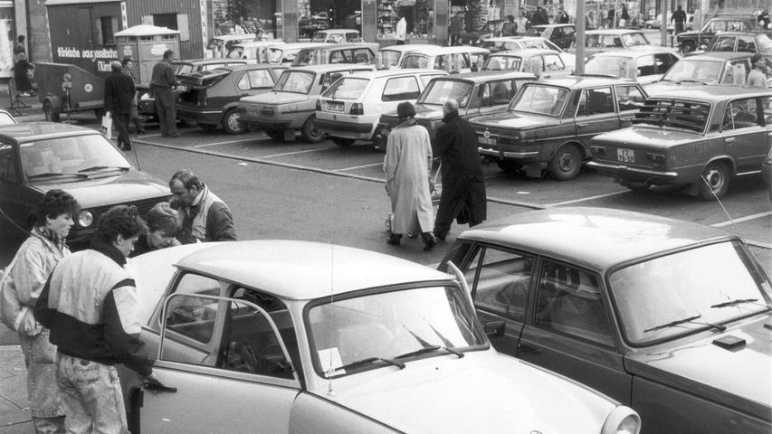 31 Jahre Mauerfall: DDR-Bürger erreichen Franken