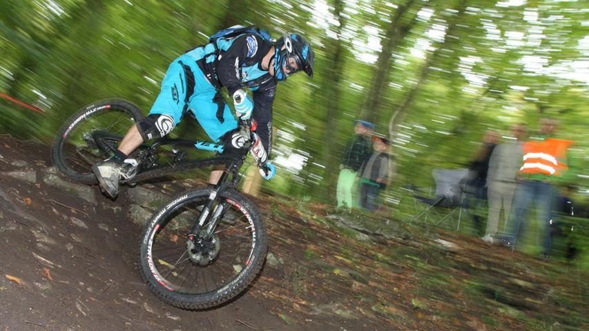Mountainbike-Sport der Spitzenklasse gab es am Wochenende in Treuchtlingen.
