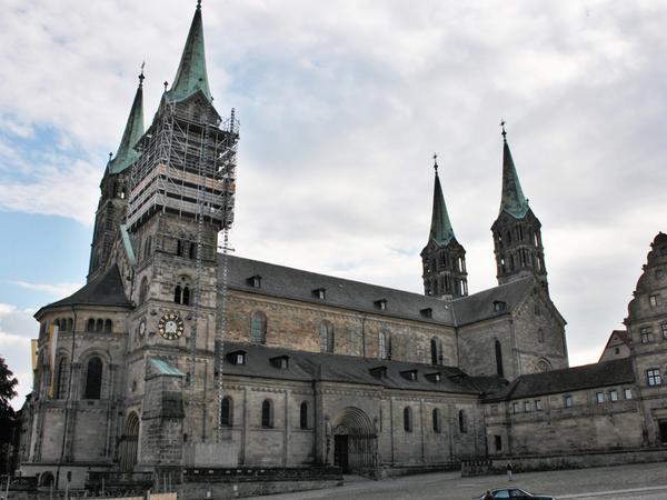 Der Dom ist ein Muss für Studenten in Bamberg.