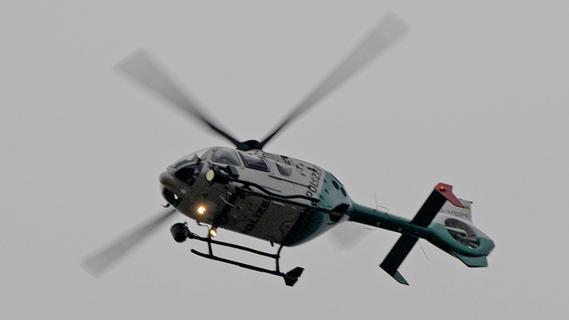 Hubschrauber über Fürth