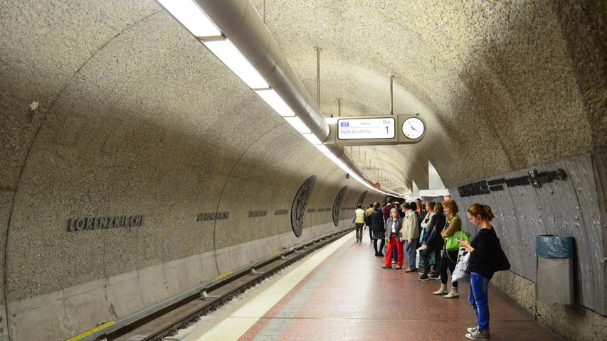Werner Schuster ist der Leiter des Nürnberger U-Bahn-Bauamts. Sein Top-Favorit unter den Nürnberger U-Bahnsteigen ist die Station Lorenzkirche.