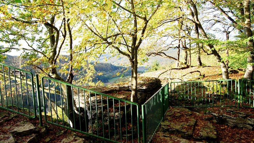 Vom Aussichtspunkt Breitenstein...