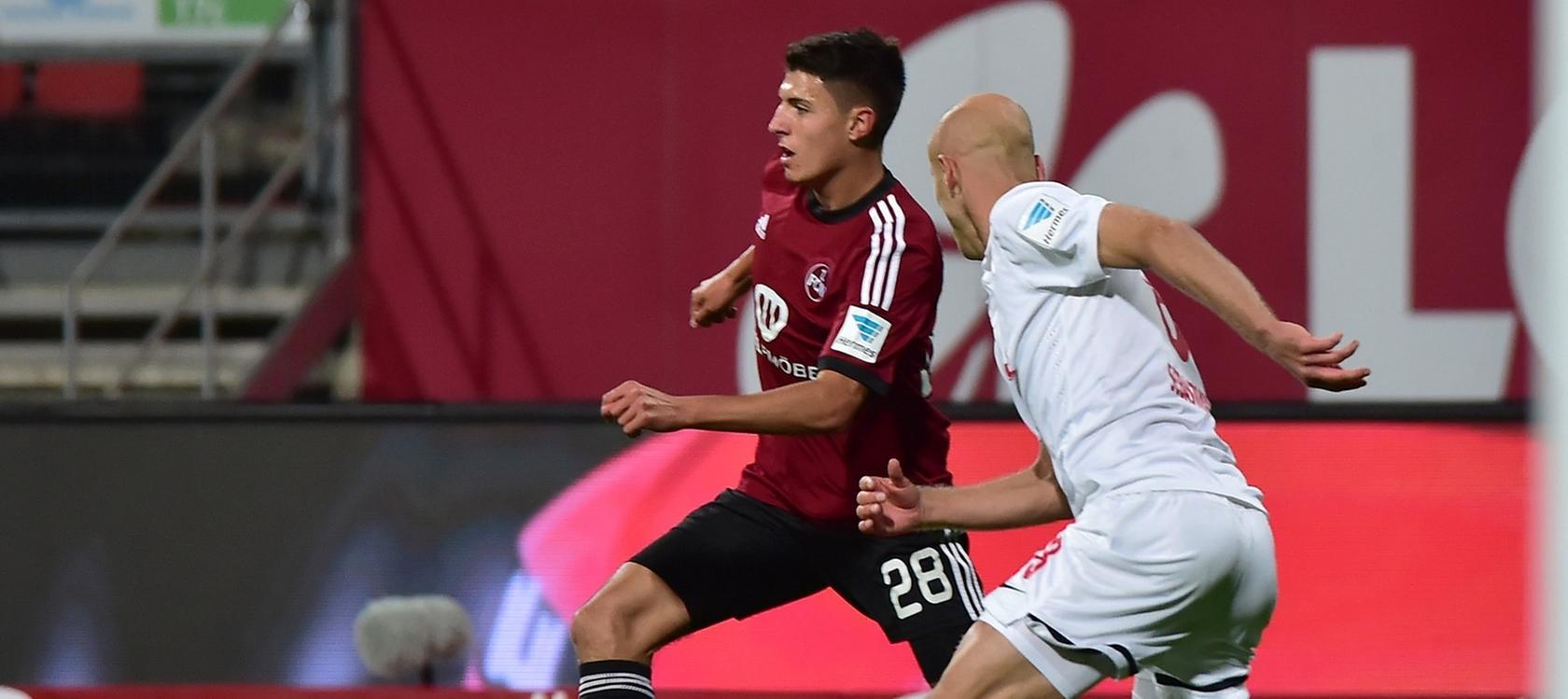 Schoss den 1. FC Nürnberg zum 1:0-Sieg: Alessandro Schöpf.