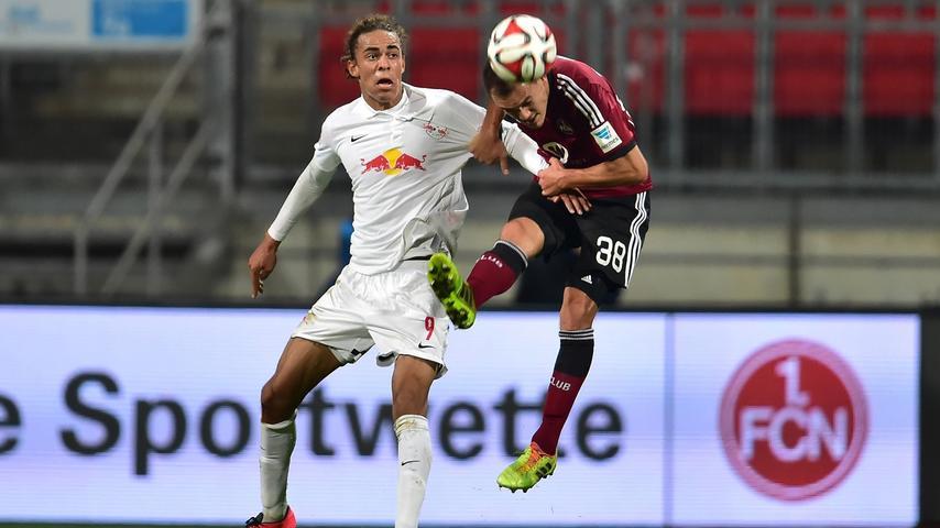 Die Formkurve des 1. FC Nürnberg zeigt weiter nach oben. In einem intensiven Spiel gegen RB Leipzig stand der Club sicher in der Defensive und hatte in der Offensive einen treffsicheren Mann. Wir haben die Bilder.
