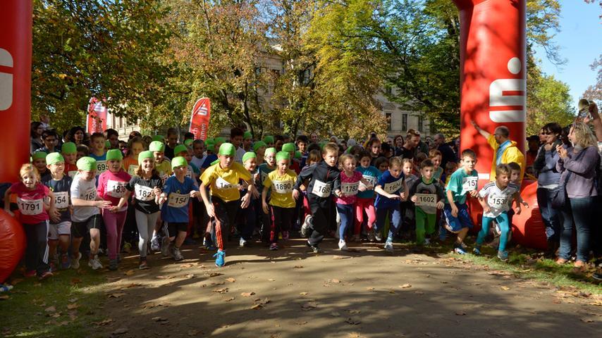 Sport für den guten Zweck: 1. Lauf gegen Krebs in Erlangen