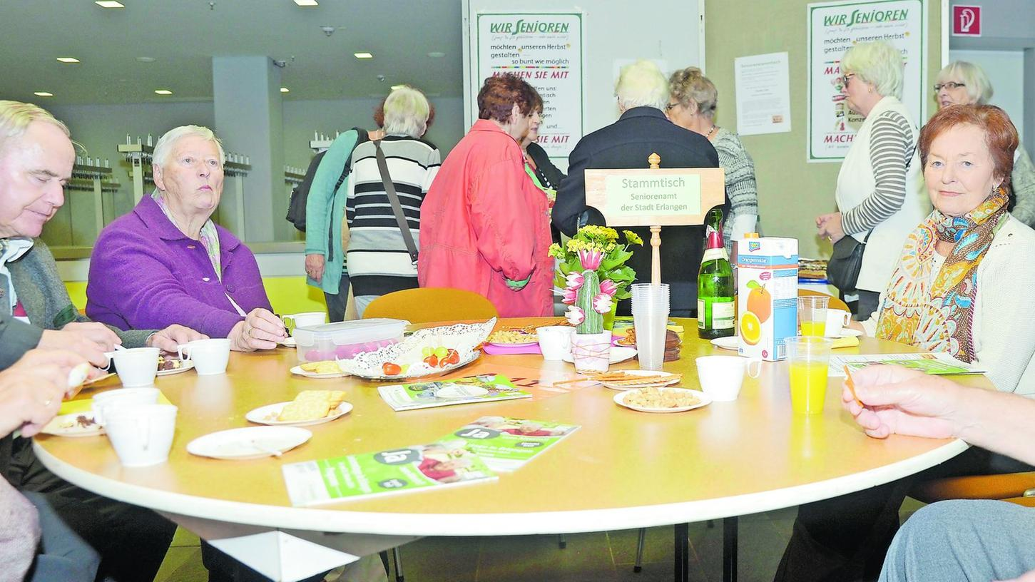 Bei den Besuchern stieß das Angebot bei den ersten Erlanger Seniorentagen auf großes Interesse.